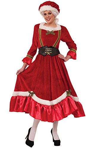 Costumes For Larger Women (Forum Novelties Women's Plus Size Mrs. Santa Claus Costume, Multi, Plus Size)