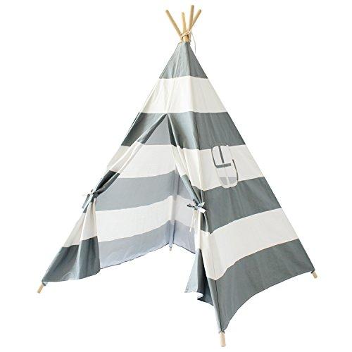 Lebze Gray Canvas Teepee Tent