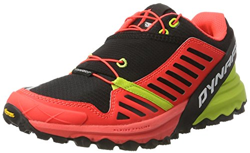 Dynafit Womens Alpine Pro Trail Running Shoes Black / Lime Punch