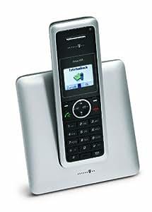 Deutsche Telekom Sinus 302i - Teléfono RDSI, color negro y plateado (importado)