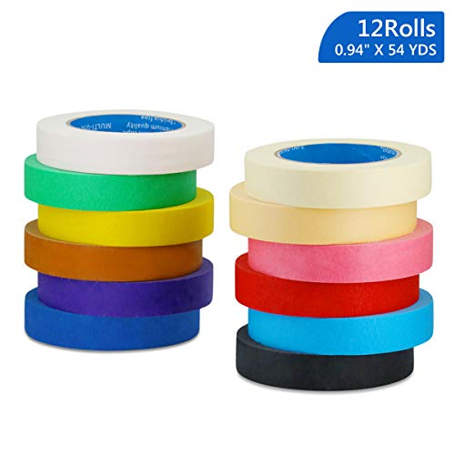 Colored Masking Tape for Kids Arts Crafts