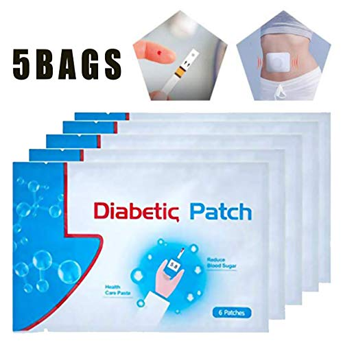 30pcs/5Bags Diabetes Pads, Pure Natural Herbal Diabetes Sticker