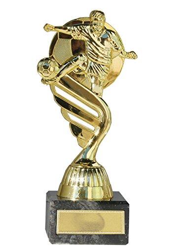 Eurocebrian Trofeo Futbol Futbolista Oro o Plata con balón