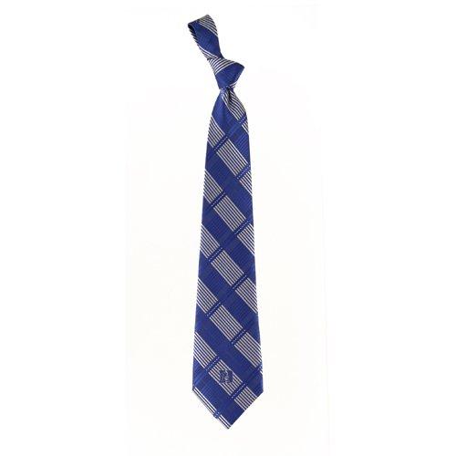 Eagles Wings Duke Blue Devils Woven Plaid Necktie ()