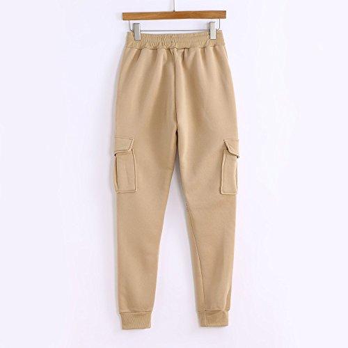 Pantaloni Meibax Lavoro Uomo leggings Slim athletic pants Carico Harem Sportivi Da pantaloni Yoga Autunno pantaloni Cachi Cotone Fit Pantalone RRraqn5wx