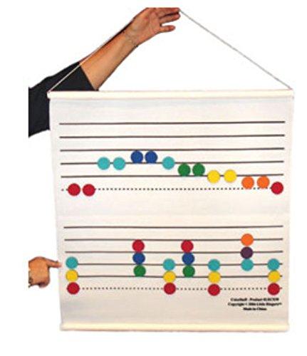 Staff Color  Felt LRCS30 Instruments Band Rhythm B01NAC0N8C