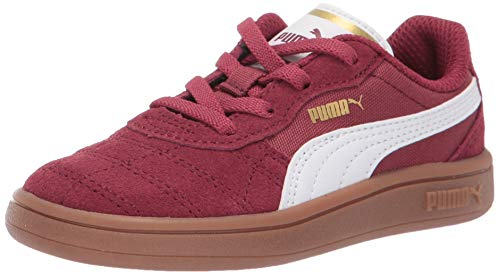 - PUMA Unisex Astro Kick Sneaker, Cordovan-White-teamgold, 3.5 M US Big Kid