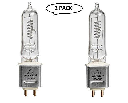 Impact EHF Lamp (750W, 120V) 2 Pack