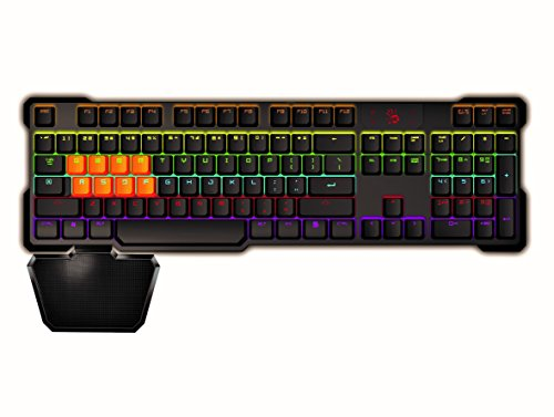 41WhCc yZaL - Bloody-B720-Light-Strike-LK-Optical-Mechanical-Gaming-Keyboard-Neon-LED-Backlit-LK-Black-Switches