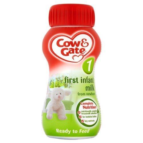Cow & Gate First Infant Milk from Newborn - 24 x 200ml