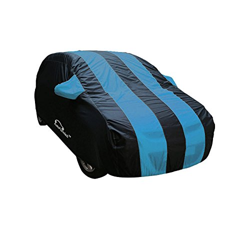 Autofurnish Stylish Aqua Stripe Car Body Cover For Hyundai Grand I-10 – Arc Aqua Blue …