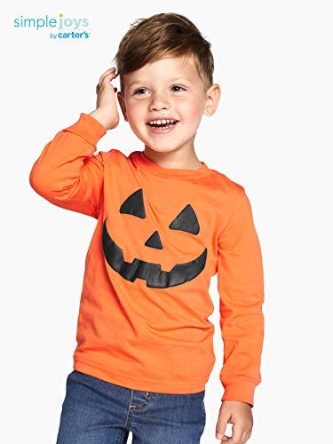 Simple Joys By Carters 2 Pack Halloween Long Sleeve Tees Bebe Ninos
