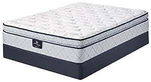 Serta Perfect Sleeper Super Pillow Top Mattress, Cool Gel Foam, Innerspring, Queen