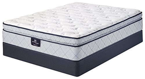 Serta Perfect Sleeper Super Pillow Top Mattress, King, Gel, Innerspring (Plush Super Pillow Top)