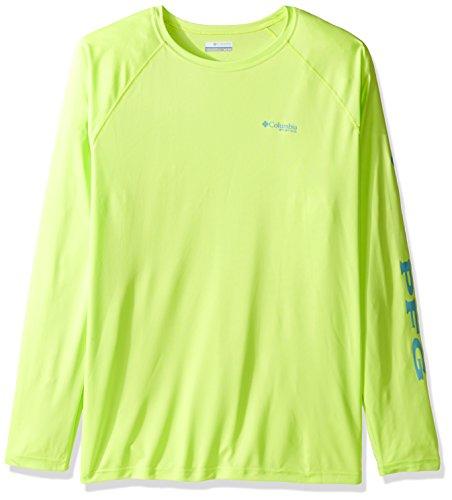 Columbia Men's Big Terminal Tackle Long Sleeve Shirt, Tippet Moxie Logo, - Sleeve Moxie Long