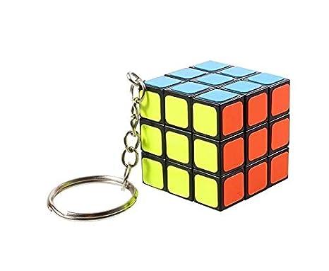 Natthom Llavero de Tercer Orden Cubo de Rubik Hebilla del ...