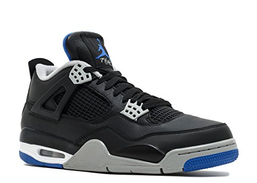 Jordan Air 4 Retro Men's Black/Silver/White 308497-006 (Size: - New Jordans Mens