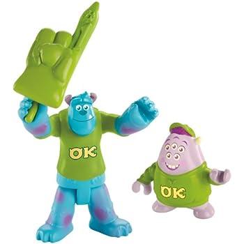 Imaginext Disney Pixar Monsters University Sulley & Squishy
