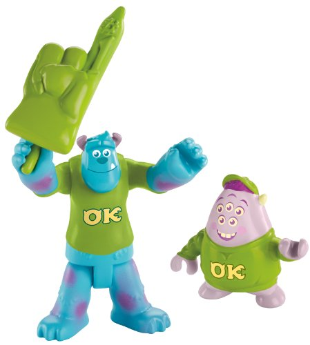 Imaginext Disney Pixar Monsters University Sulley & Squishy