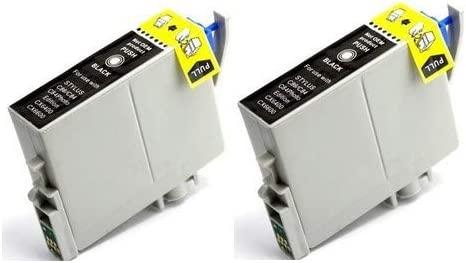 T043120/_2PK SuppliesMAX Remanufactured Replacement for Stylus C84//C86//CX-6400//6600 Black High Yield Inkjet 2//PK-950 Page Yield NO. 43
