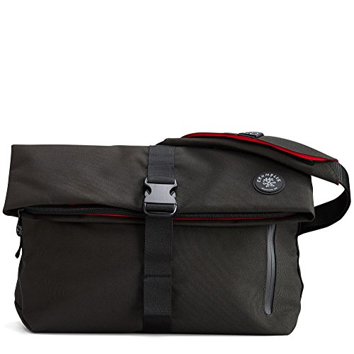 Crumpler Men's The Pinnacle Of Horror Shoulder Bag 9 L Gunmetal