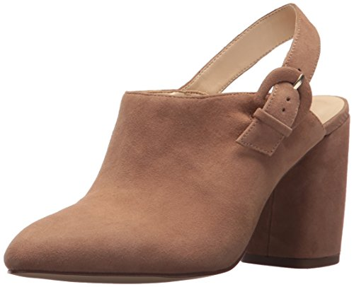 Women's West Nine Jacquerie Pump Suede Natural 5RWgW4