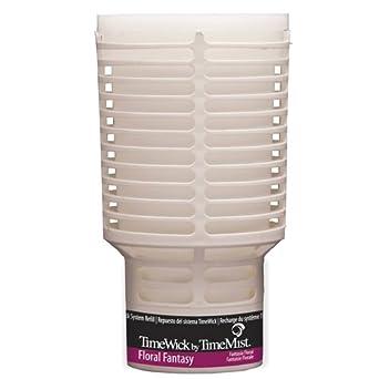 TimeMist 676109TM TimeWick Floral Fantasy NonMetered Air Freshener Refill (Case of 6)