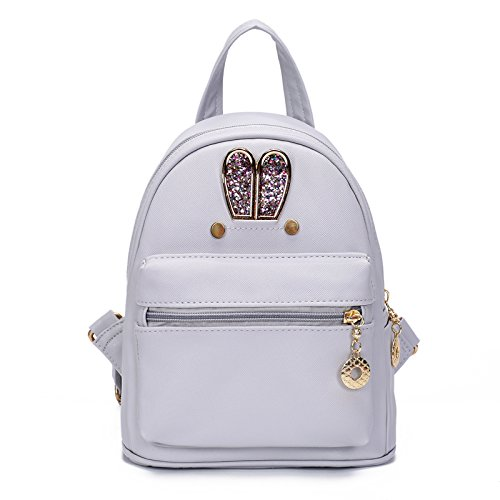 Purse Grigio bianco chiaro 26CM 18 23 Travel New Backpack FashionGirls qBwtUpU