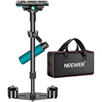 Neewer 24/60cm Handheld Stabilizer with Quick Release Plate 1/4 and 3/8 Screw for DSLR and Video Cameras up to 6lbs/2.7kg