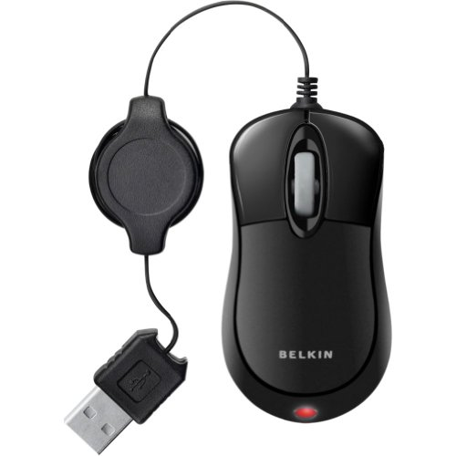 Belkin Mini Optical Mouse Black