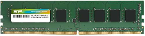 8GB Silicon Power DDR4 2400MHz PC4-19200 Desktop Memory Module CL17 288 pins by Silicon Power (Image #2)