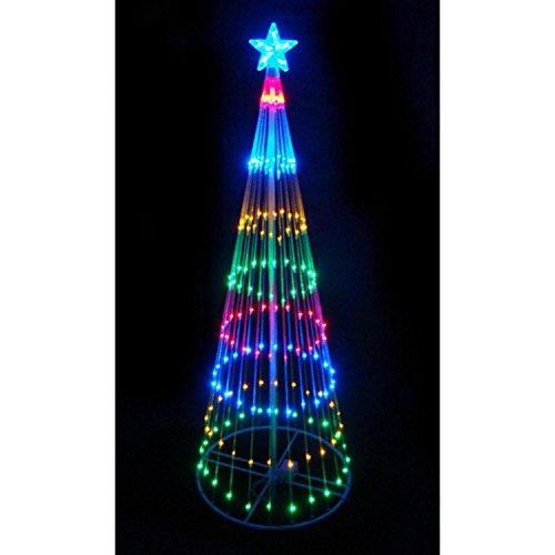 Multi Color Led Light Show Cone Christmas Tree