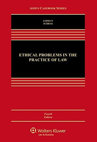 Ethical Problems in the Practice of Law by Lisa G. Lerman (2016-02-19)