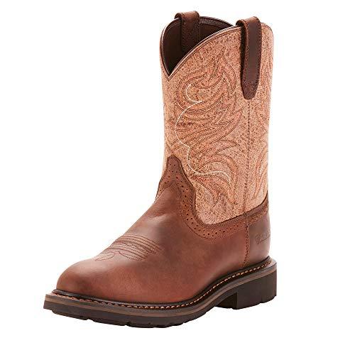 Ariat Work Men's SIERRA SHADOW Boot, brown, 12 2E US (Cowboy Equipment)