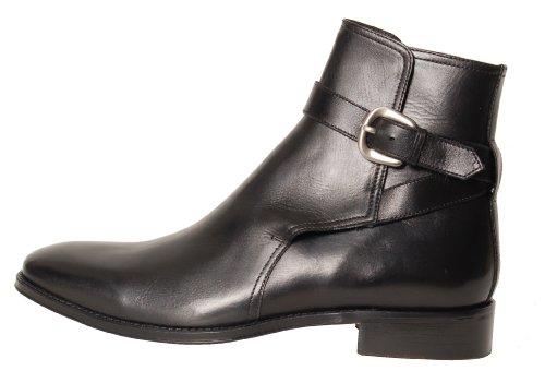 Antica Calzoleria Campana Stiefelette | Mod. 703 | linea premium | Monkstrap | braun oder schwarz Schwarz