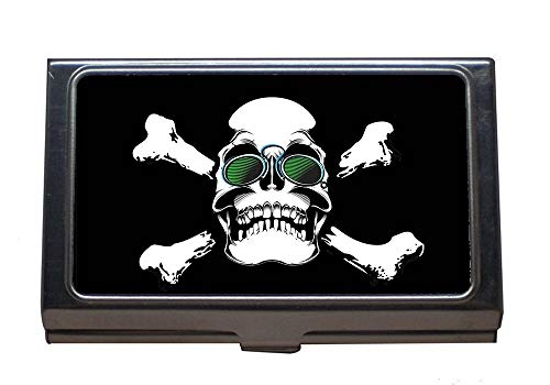 Business Name Card Holder,Printing On T-Shirt Skull, used for sale  Delivered anywhere in USA