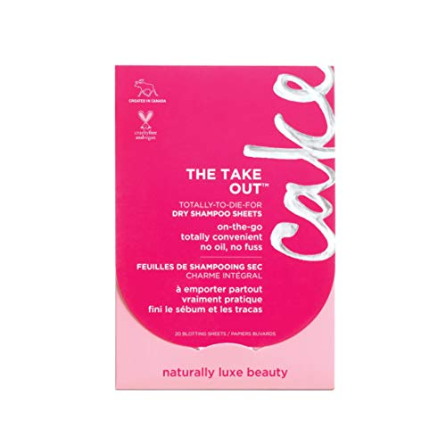 (Cake Beauty The Take Out Dry Shampoo, 20 Blotting Sheets)