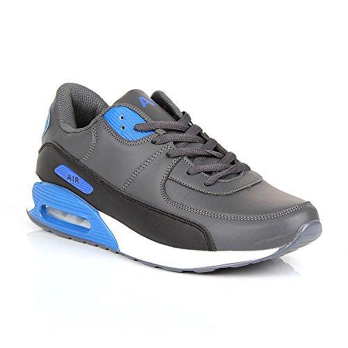 Click pour Baskets noir bleu homme noir gris mode 40 Shoes dPwB5txd