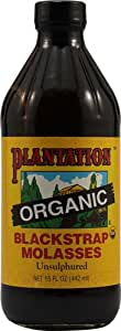 100% Natural, 100% Pure, Molasses, Blackstrap, Unsulfured, Organic, 15 oz Cheaper than 16 oz with shipping !