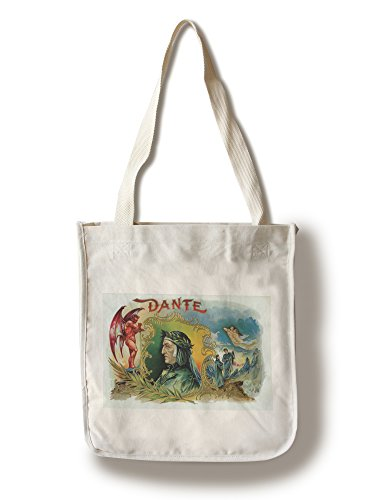Dante Brand Cigar Inner Box Label (100% Cotton Tote Bag - ()