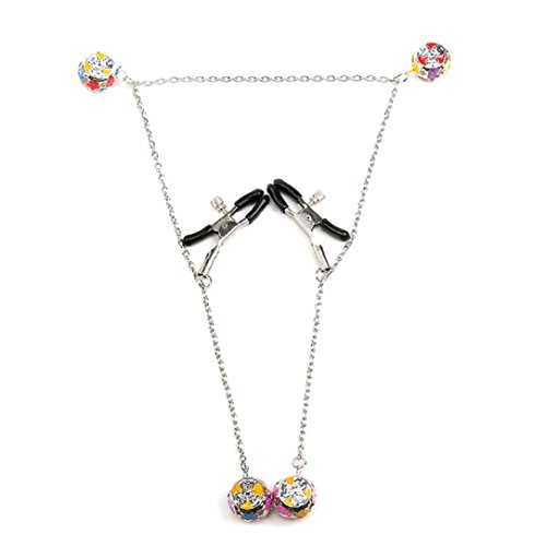 YABINA-1-Pair-Nipple-Clamps-Clips-Jewellery-Bust-Massager-Stimulate-Sex-Toy-Flirt-Adult-Products