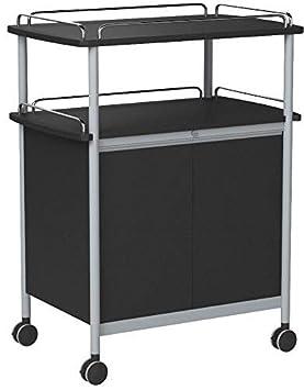 Safco acero funda para carrito de bebidas: Amazon.es: Oficina y papelería