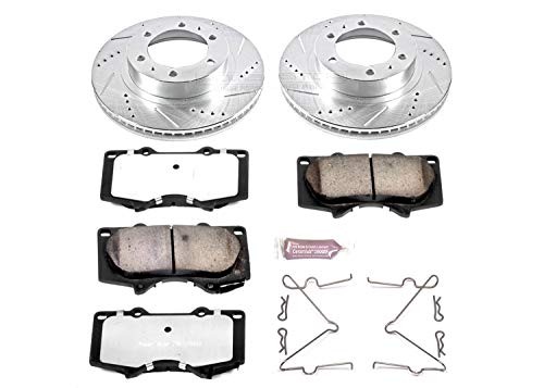 Power Stop K137-36 Z36 Truck & Tow Front Brake Kit ()