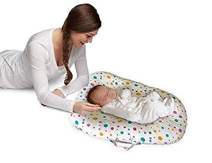 Cojín de Algodón para Bebés Recién Nacidos y Bebés 0-6 Meses Baby Nest -