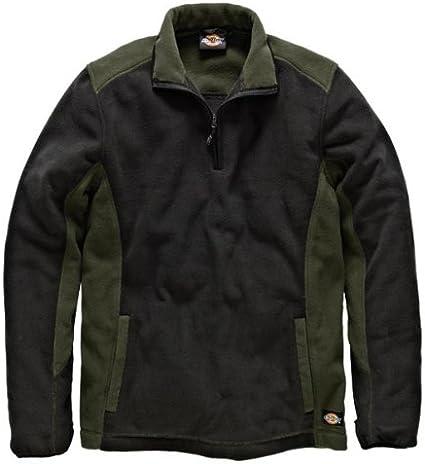 3X-Large Dickies JW7011 RDB3XL Micro Fleece Two Tone Size 3XL in red//Black