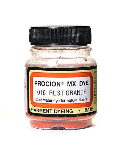 Jacquard Procion MX Fiber Reactive Dye rust orange 016 2/3 oz. [PACK OF 3 ]