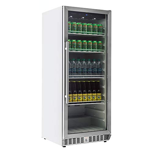 EdgeStar Built-In Commercial Beverage Merchandiser with Temperature Alarm (10.14 Cubic Feet)