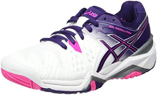 Tennis E550y De Femme 6 Asics Chaussures Gel 0133 Resolution W Yw8qC
