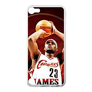 Hoomin Lebron James Last Shot Ipod Touch 5 Cell Phone Cases Cover Popular Gifts(Laster Technology)
