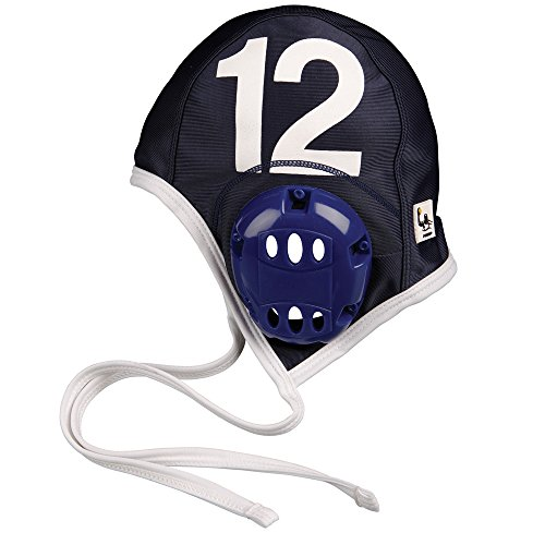 FINIS Adult Water Polo Plastic Cap Extension Set, Navy (Caps Set Team Polo)